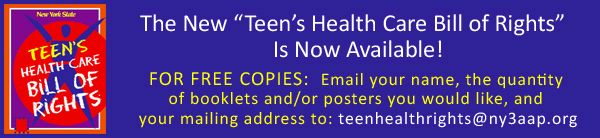 Teen's Health Care Bill of Rights